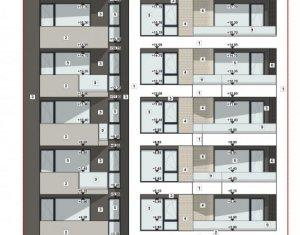 Proiect nou, apartament 2 camere, semidecomandat