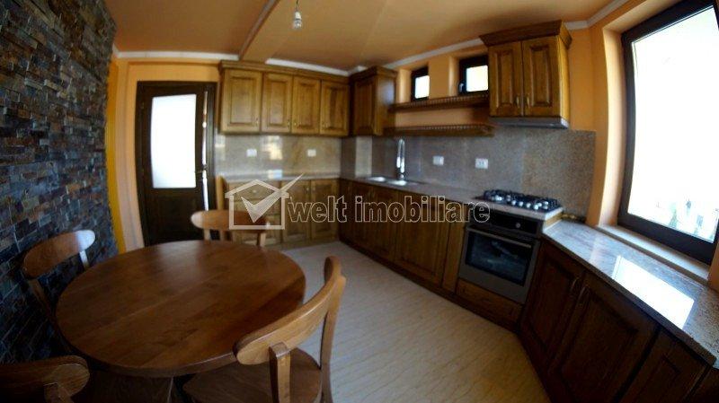 Casa, 5 camere, 220mp utili, ultrafinisata, mobilata si utilata