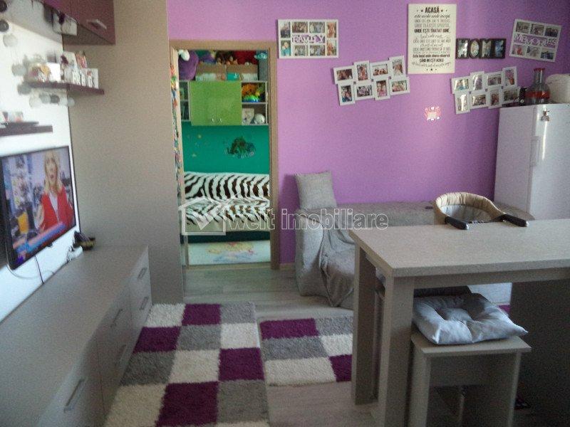 Vindem apartament 2 camere, la cheie, strada Stejarului, Floresti