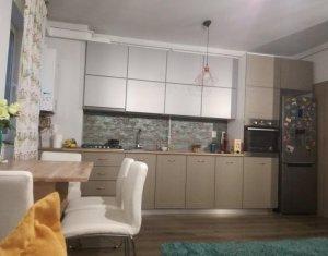 Apartament 3 camere 56 mp, gradina 40 mp, bloc nou, mobilat lux, Marasti