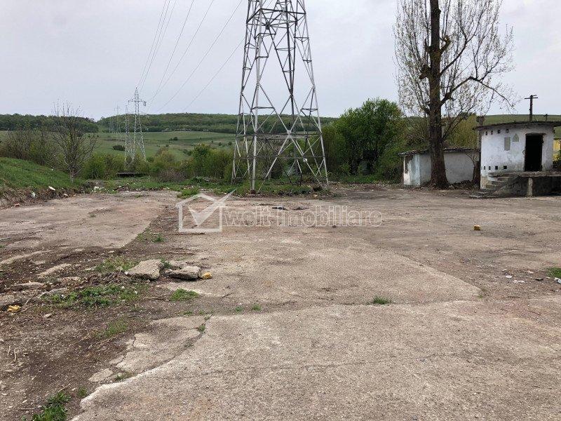 Inchiriere teren platforma betonata, acc TIR, zona Velpitar Baciu