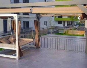 Apartament 3 camere, 60 mp, lux, terasa 80 mp, garaj subteran, Calea Turzii, OMW