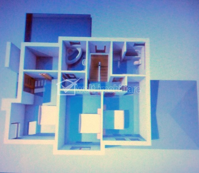 Casa demolabila 1296mp teren, autorizatie constructie + autorizatie demolare