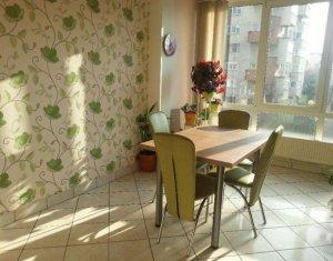 Inchiriez apartament 3 camere, decomandat, Gheorgheni, confort sporit