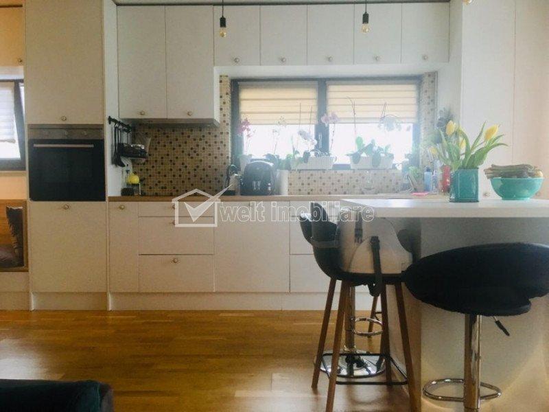 Vand apartament cu 3 camere, Borhanci, parcare inclusa