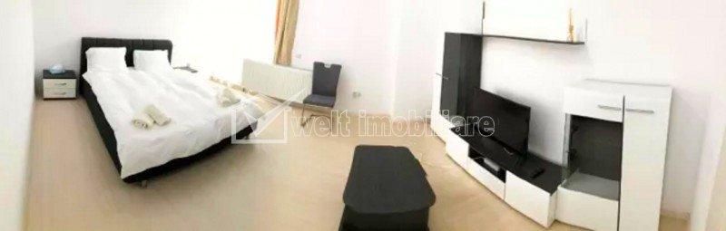 Apartament 1 camera, 43 mp, finisaje de lux, garaj, zona Soporului