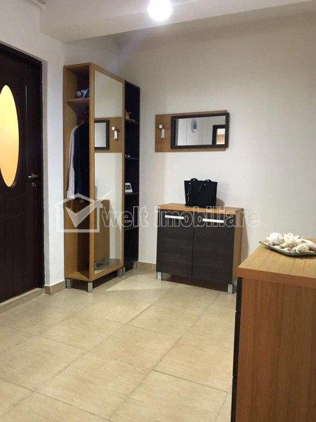 Apartament 2 camere, 56 mp, terasa, parcare, mobilat modern, Baciu, zona Petrom