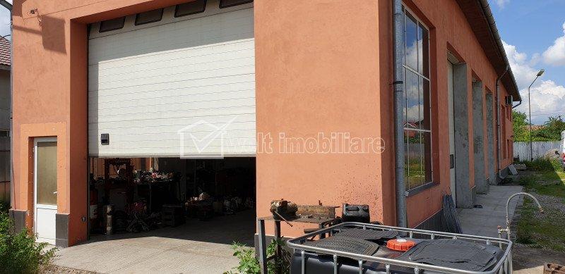 Spatiu industrial - hala + cladire de birouri si curte