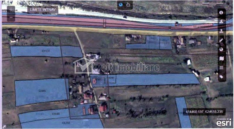 Vanzare teren 3246 Ocna Dej, 948 mp intravilan
