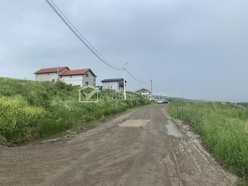 Vanzare teren Chinteni, zona dezvoltata, toate utilitatile, 1000 mp, front 35 ml