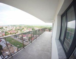 Apartament 2 camere 64 mp, prima inchiriere, terasa 28 mp, parcare subterana