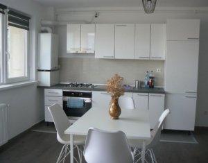 Inchiriem apartament de lux, 2 camere, etaj intermediar, zona D Mocanu, Floresti