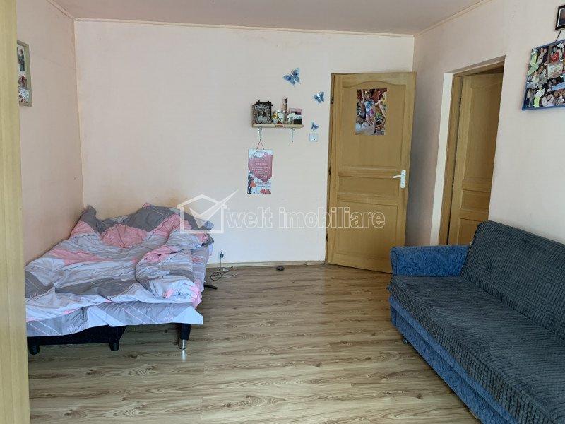 Vanzare apartament cu 3 camere, decomandat, Plopilor, 71 mp, parter inalt din 4