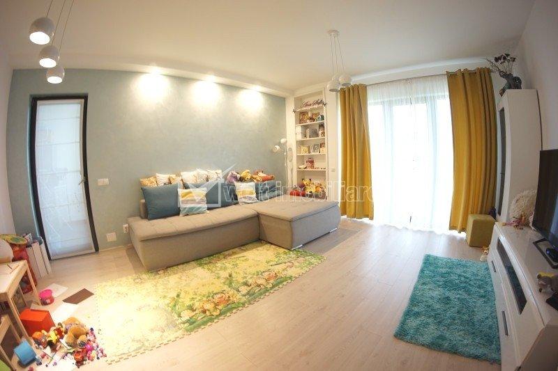 Apartament 3 camere, superfinisat, 84 mp utili, la cheie, in bloc nou