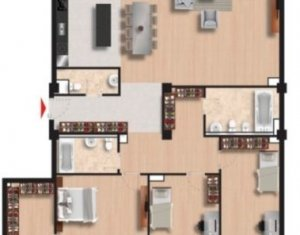 Apartment 4 rooms for sale in Cluj Napoca, zone Gheorgheni