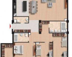 Apartament  4 camere imobil nou ultrafinisat partial mobilat zona Iulius