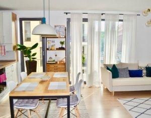 Apartament de 2 camere, lux, 54 mp, etaj intermediar, Gheorgheni, zona FSEGA