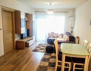 Apartament 2 camere, 50 mp, finisat lux, partial mobilat, balcon, bloc nou, Iris