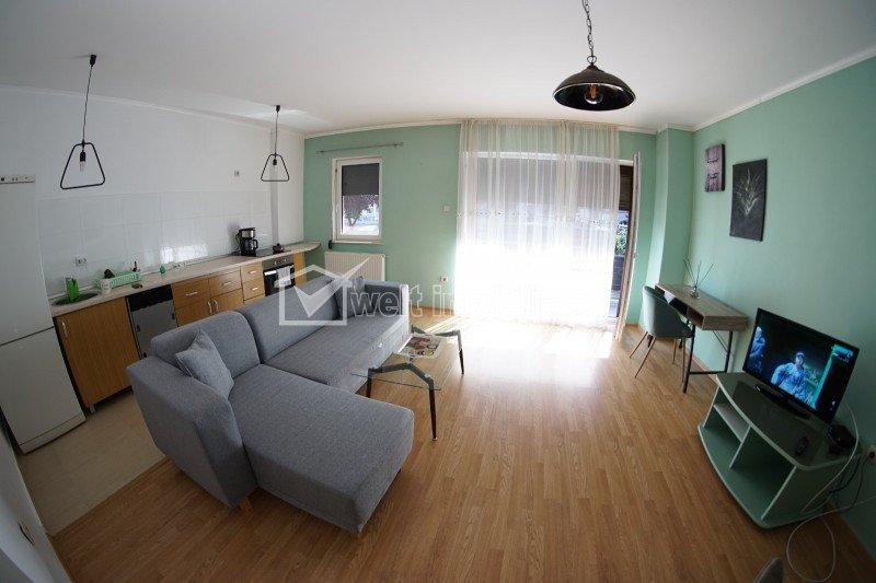 Inchiriere apartament 62mp + gradina 20mp + loc parcare