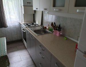 Apartament 2 camere, 41 mp, renovat, parter inalt, mobilat, zona Big, Manastur