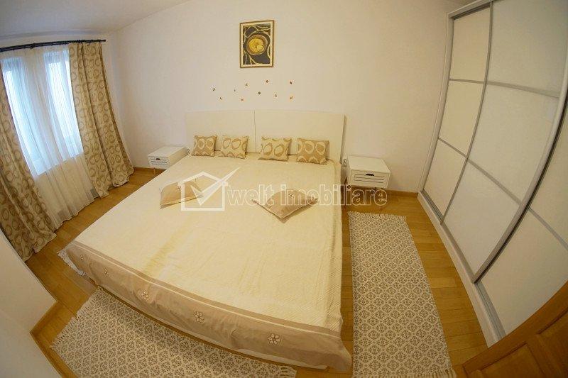 Apartament 2 camere, decomandat, mobilat lux, zona Iulius Mall