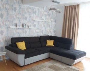 Apartament 3 camere, prima inchiriere, terasa, mobilat lux, langa Iulius Mall