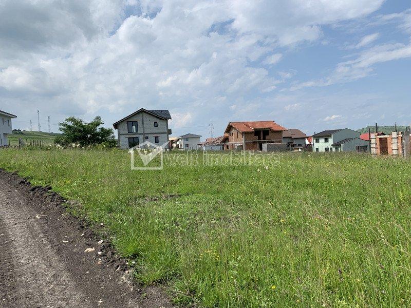 Vanzare teren Chinteni, zona dezvoltata, parcelat, ideal pentru dezvoltatori