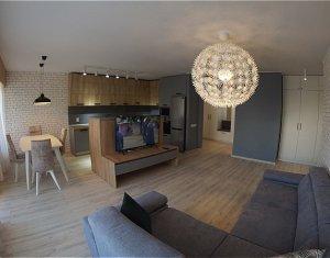Inchiriere apartament 3 camere, 90 mp, terasa 25 mp, lux, Calea Dorobantilor