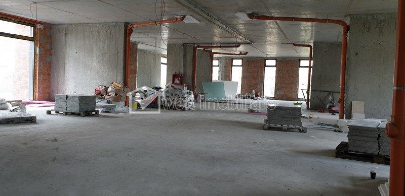 Spatiu comercial 430 mp, imobil nou, zona Iulius Mall.