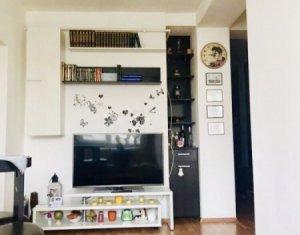 Apartament 2 camere 54 mp, decomandat, complet mobilat si utilat, bloc nou, Iris