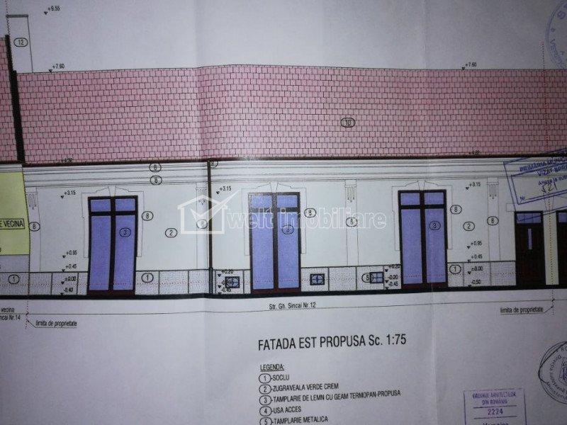 Spatiu comercial/birou renovat Centru, vad pietonal, Primarie