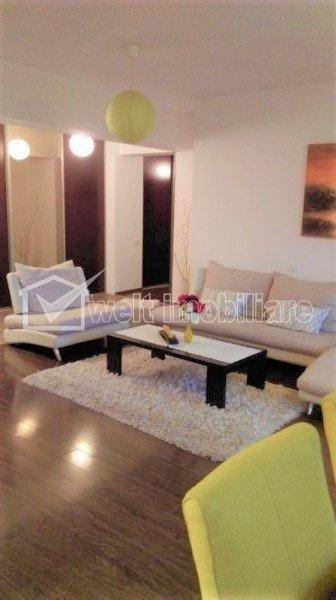 Apartament 3 camere, bloc nou, mobilat, utilat, Plopilor