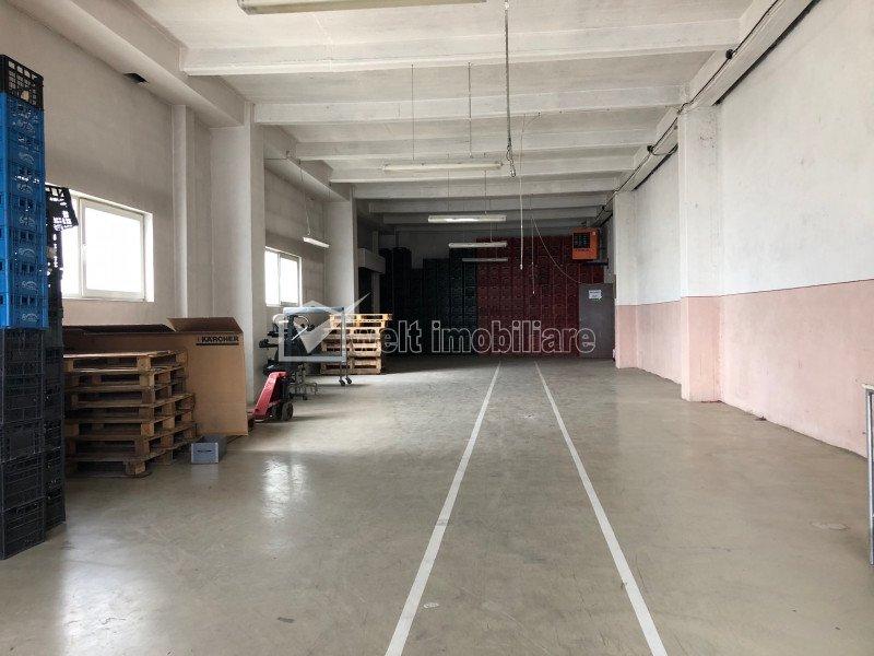 Depozit 450mp parter, etaj 470mp productie sau birouri, zona Plevnei