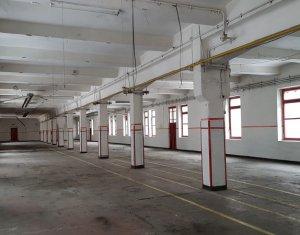Inchiriere spatiu productie 1.519mp, birouri 238mp, Clujana