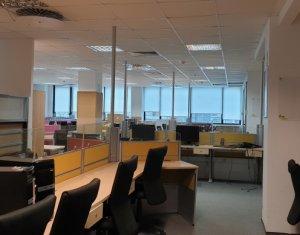 Inchiriere birouri clasa A, cladire centrala, 315mp utili, 2 terase