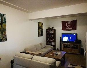 Apartament 3 camere, demisol inalt, mobilat si utilat, Buna Ziua