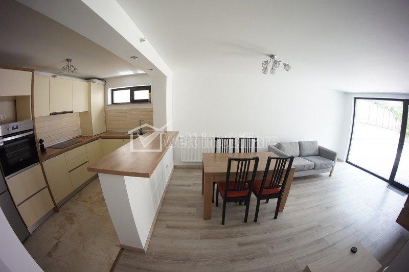 Inchiriere Apartament cu 3 camere, acces privat, 80 mp, zona Hasdeu - Platinia