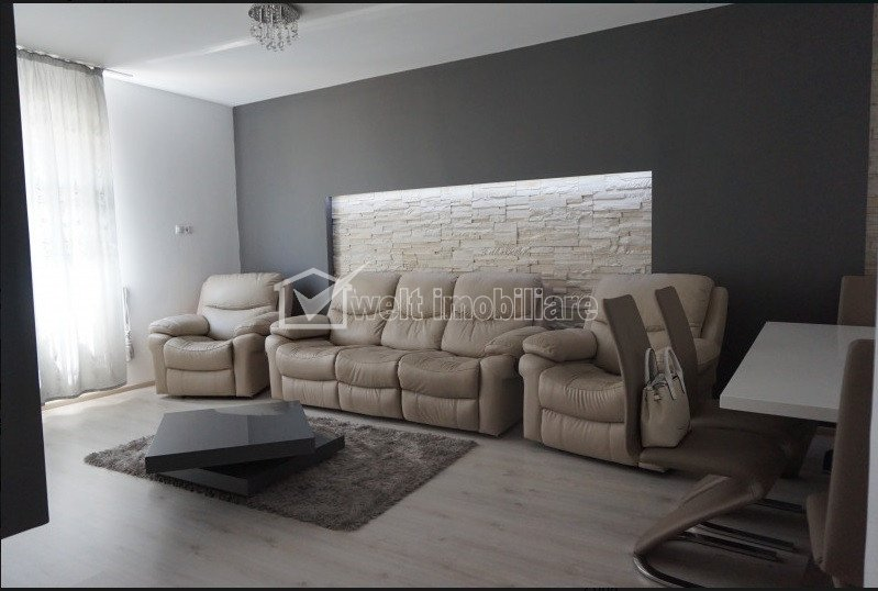 Apartament 3 camere, de inchiriat situat in Floresti, zona Stadionului