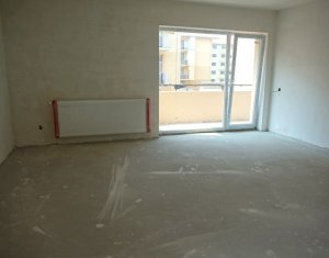 Vanzare apartament cu 2 camere, suprafata generoasa, semifinisat, Floresti