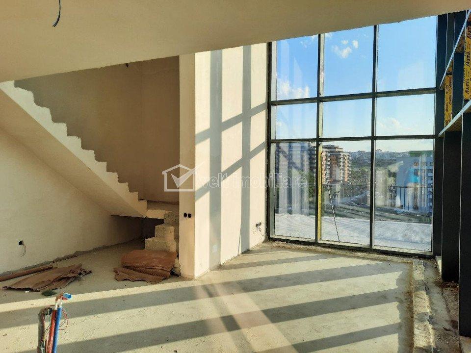 Penthouse 4 cam., aproape de Iulius Mall, dispus pe 2 nivele, terase generoase!