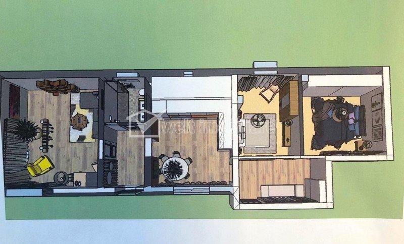 Inchiriere casa individuala, 3 camere, Someseni