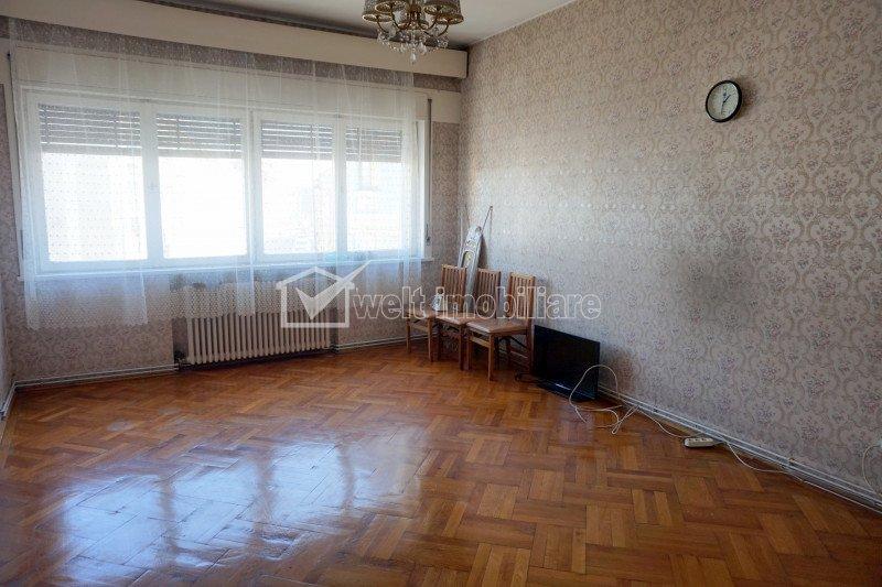 Inchiriere apartament, 5 camere, bucatarie, 2 bai, garaj, ultracentral