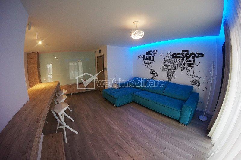 Apartament de inchiriat, 2 camere, 58 mp, etaj intermediar, Platinia, Centru