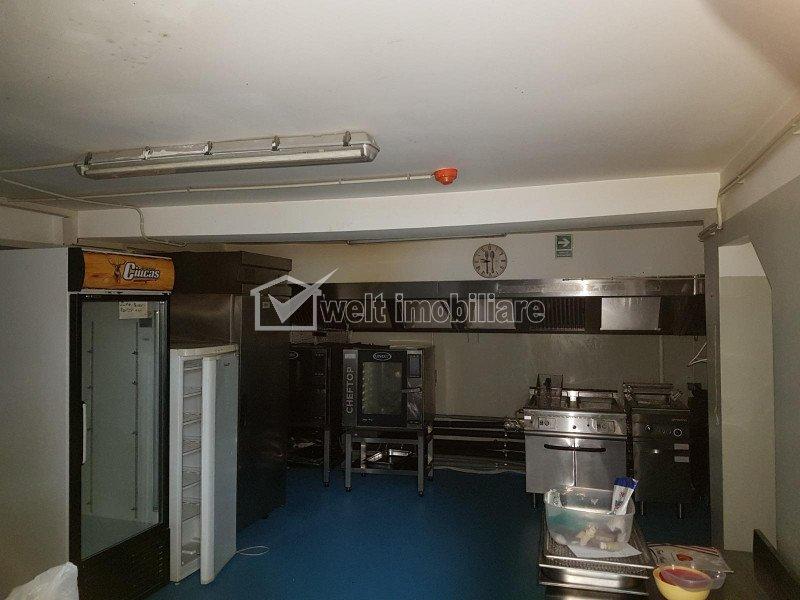 Spatiu 500mp alimentatie publica, zona centrala