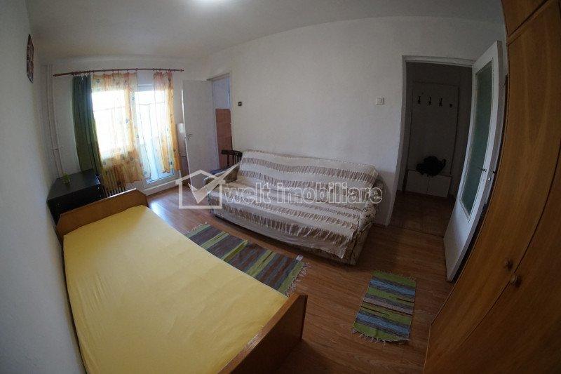 Garsoniera confort 1, etaj intermediar, 24 mp, Zorilor, la 10 min de UMF