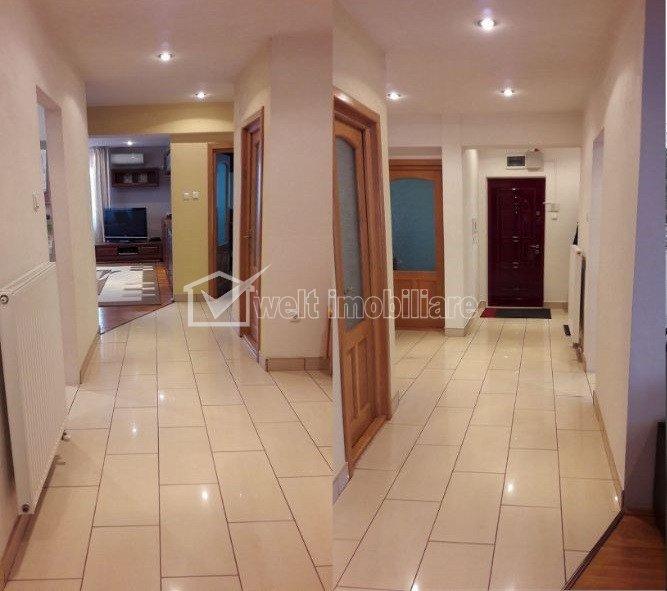 Apartament 4 camere, singur pe nivel, 120mp, 4 locuri de parcare