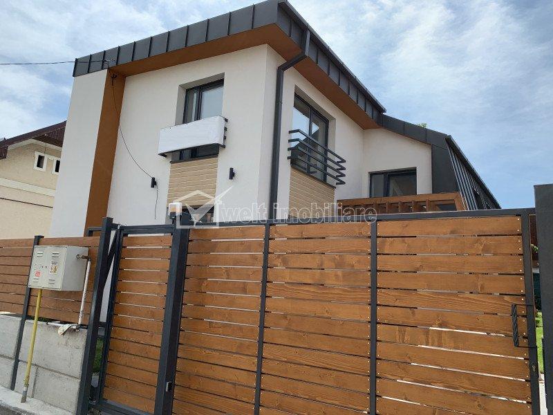 Vanzare casa noua cu CF, Gheorgheni, zona superba, 4 dormitoare, parcare