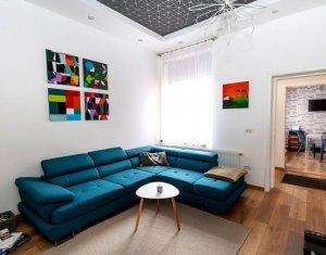 Apartament cu 4 camere, ultracentral, finisat, mobilat lux, Piata Muzeului