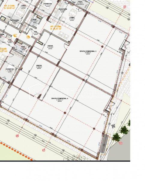 Spatiu comercial, cartierul Marasti, 120 mp