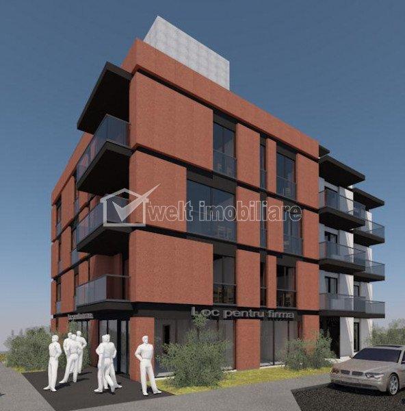 Apartament de vanzare in bloc nou, Andrei Muresanu, 2 camere decomandate, 54 mp